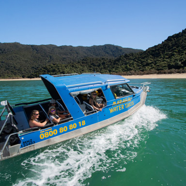 Marahau Water Taxis - About Us - Abel Tasman National Park