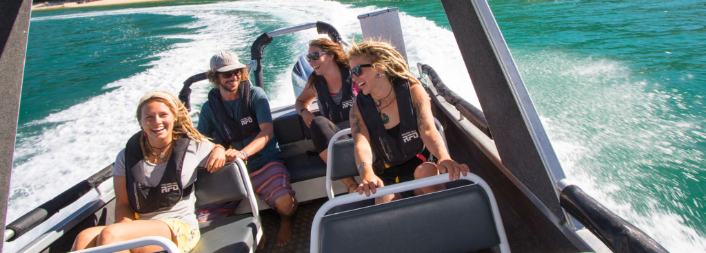 Marahau Water Taxi - One way fares - Water Taxi Trips in The Abel Tasman National Park