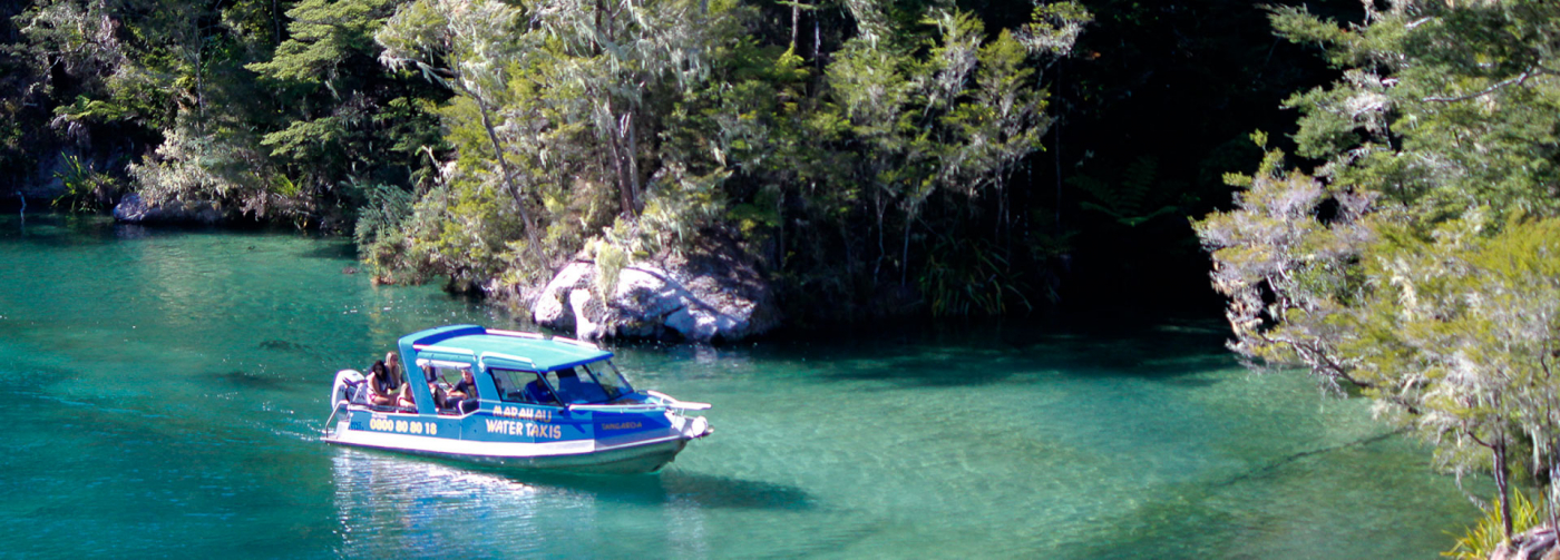 Marahau Water Taxi - Charter your own Water Taxi -Water Taxi Trips in The Abel Tasman National Park